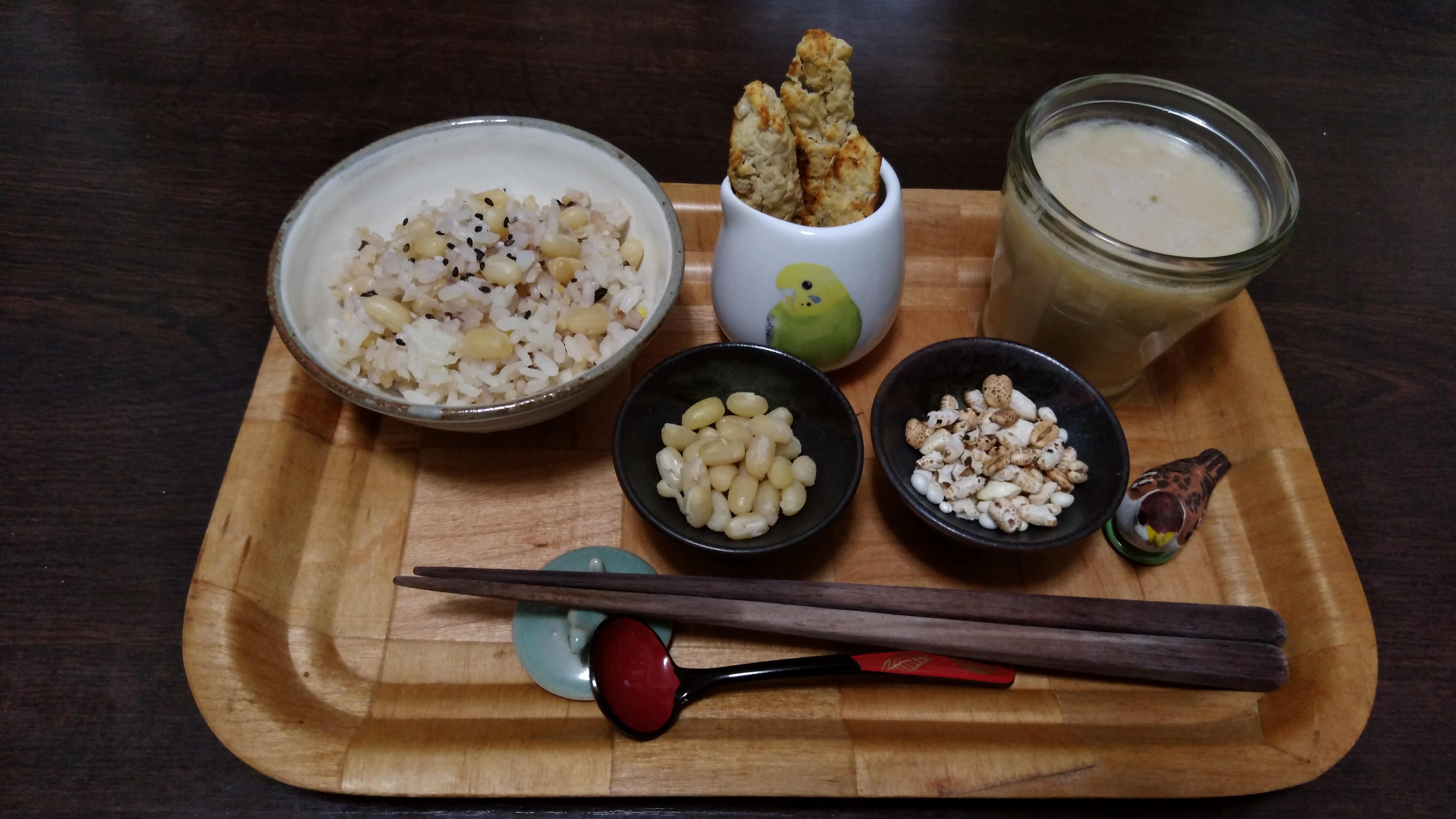 白小豆と米麹甘酒ドリンク
